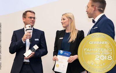 Couplink gewinnt Telematik Award