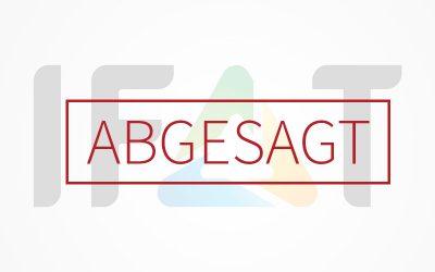 07. – 11.09.2020 | IFAT 2020 abgesagt