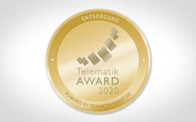 COUPLINK gewinnt Telematik AWARD 2020